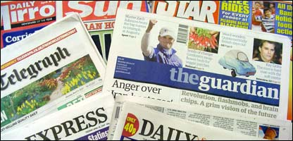 Newspapers have seen a steady decline in sales recently