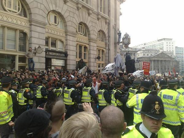 G20 Protests get Hostile